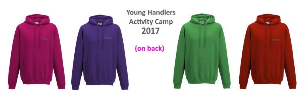 Adults Young Handlers Activity Camp 2017 Hoodies
